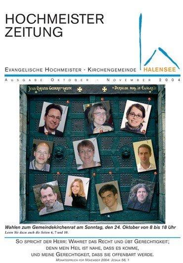 Hochmeisterzeitung 10 2004