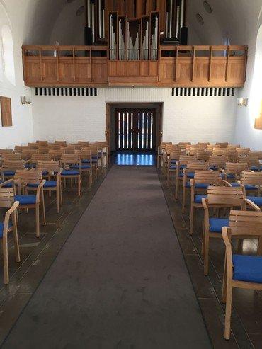 Orglet i Hadsund kirke