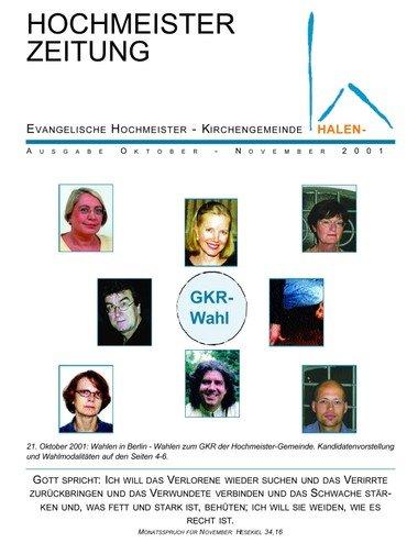 Hochmeisterzeitung 10 2001