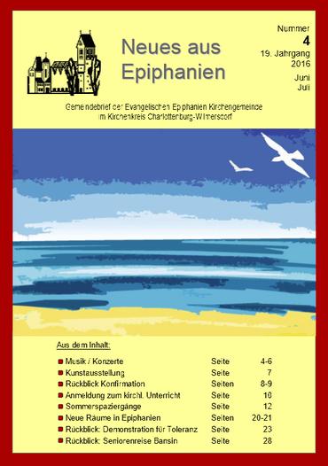 Gemeindebrief Nr.4 2016