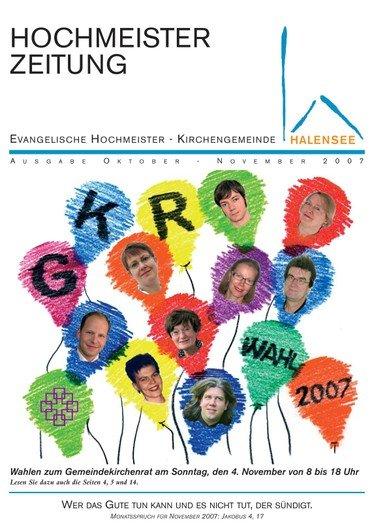Hochmeisterzeitung 10 2007