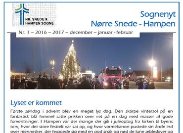 Sognenyt december 2016 - januar - februar 2017