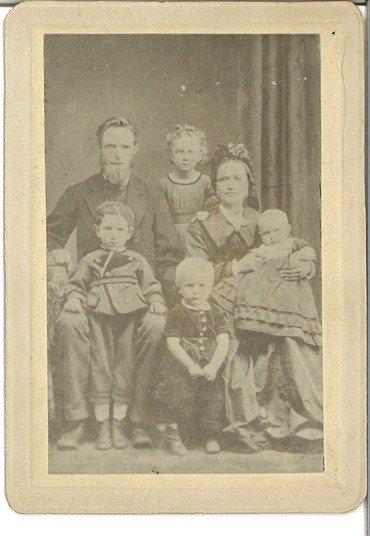 Bagerst: Søren (født 1841), Margrethe (født 1868), Mette (Meta) (født 1841),