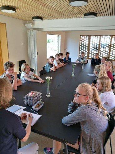 Konfirmationsundervisning i Vindinge sognegård
