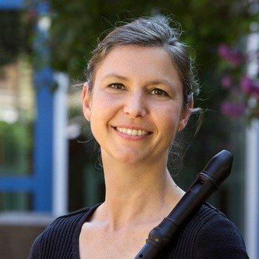 Blockflötengruppenleiterin Lilian von Haussen