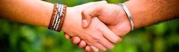 Aftale håndtryk