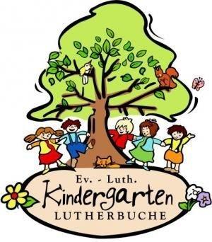 Logo des Kindergartens Bei der Lutherbuche
