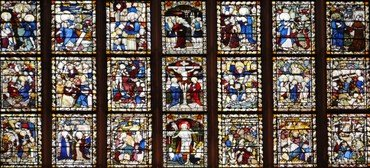 Photo of the great east window