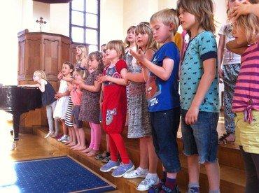 Børn der synger