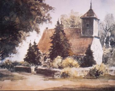 Dorfkirche früher