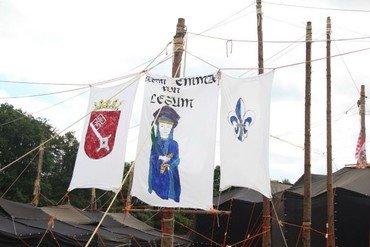 Pfadfinder Stamm Emma von Lesum, Wappen und Logo im Lager
