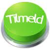 Grøn knap med teksten Tilmeld