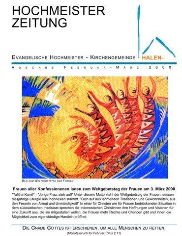 Hochmeisterzeitung 02 2000