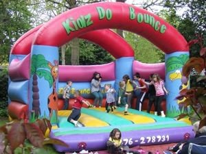 Bouncy Castle at a special event for children