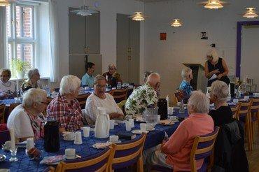 Billede fra FredagsÅben i sognehuset