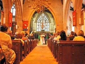Wedding at St Marks