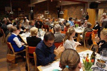 Dejlig middag for kirkens frivillige
