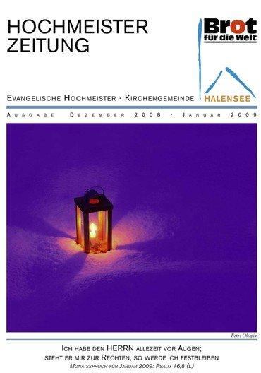 Hochmeisterzeitung 12 2008