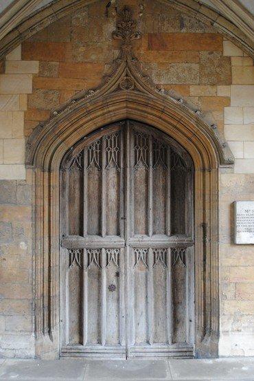 Photo of porch door
