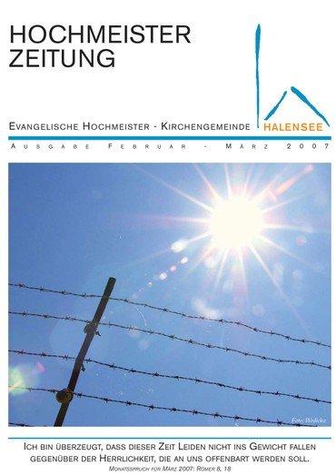 Hochmeisterzeitung 02 2007