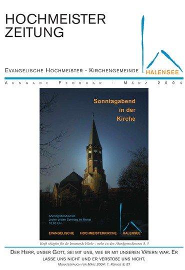 Hochmeisterzeitung 02 2004