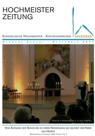 Hochmeisterzeitung 08 2007