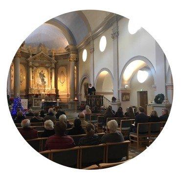 Eglise danoise de la Côte d'Azur