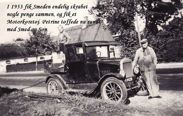 Smeden og hans nye motorkøretøj
