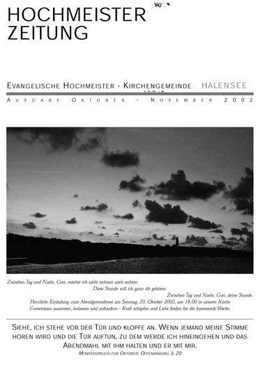 Hochmeisterzeitung 10 2002