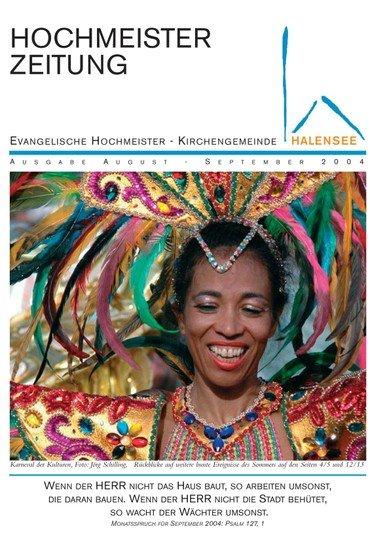 Hochmeisterzeitung 08 2004