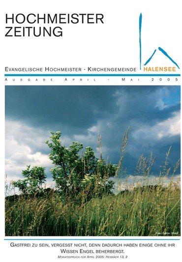 Hochmeisterzeitung 04 2005