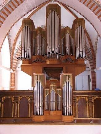 Et billede af orglet