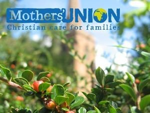 Mother's Union logo with St Mark's Church in the background