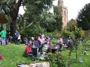 Social gathering at St Mark's