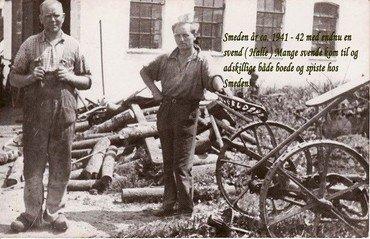 Smeden år ca. 1941