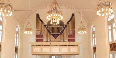 Orglet i Solbjerg Kirke