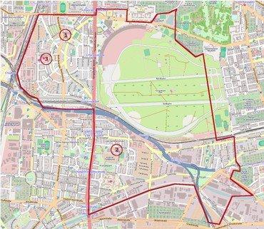 Karte der Gemeinde