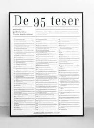 Luthers 95 teser om aflad