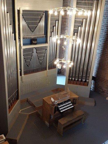 Billede af orglet