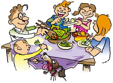 Familiefællesskab og fællesspisning   Hjallerup Sogn