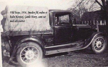 Smedens nye bil, 1956