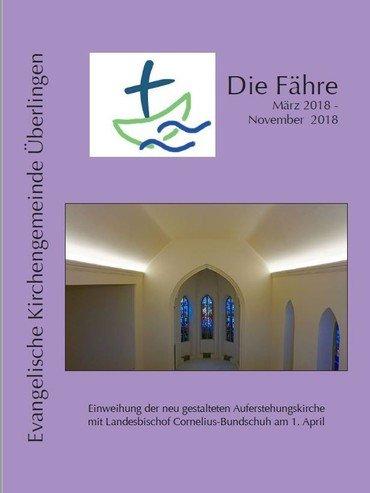 Deckblatt 'Die Fähre 2018 1'