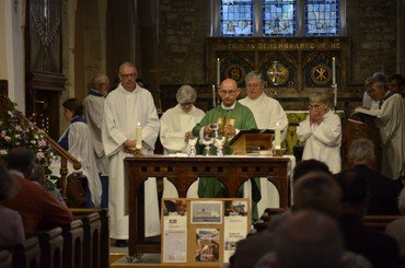 Communion at St Mary's