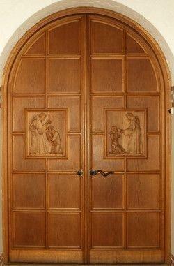 Billed af døren