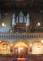 Das Foto zeigt die Innenansicht der Immanuelkirche.
