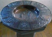 Dåbsfad -bronze