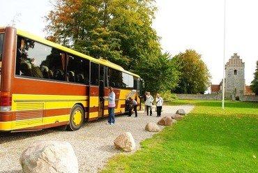 Bussen klar til udflugt