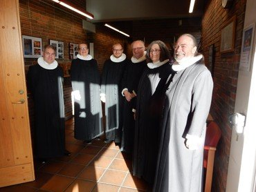 Fejring af kirke i Brøndby Strand i 50 år