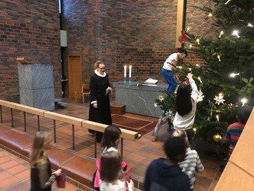 Kirken i julen
