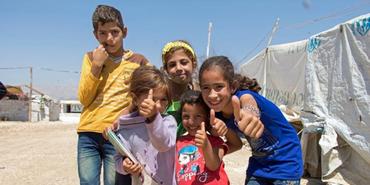 Årets Global missions projekt (viser børne)
